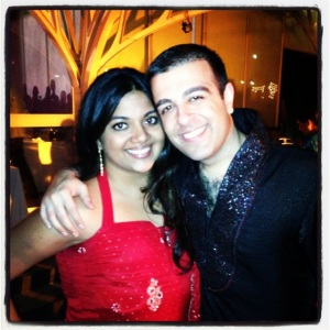 Sangeet in Mumbai with Kad...Red One
